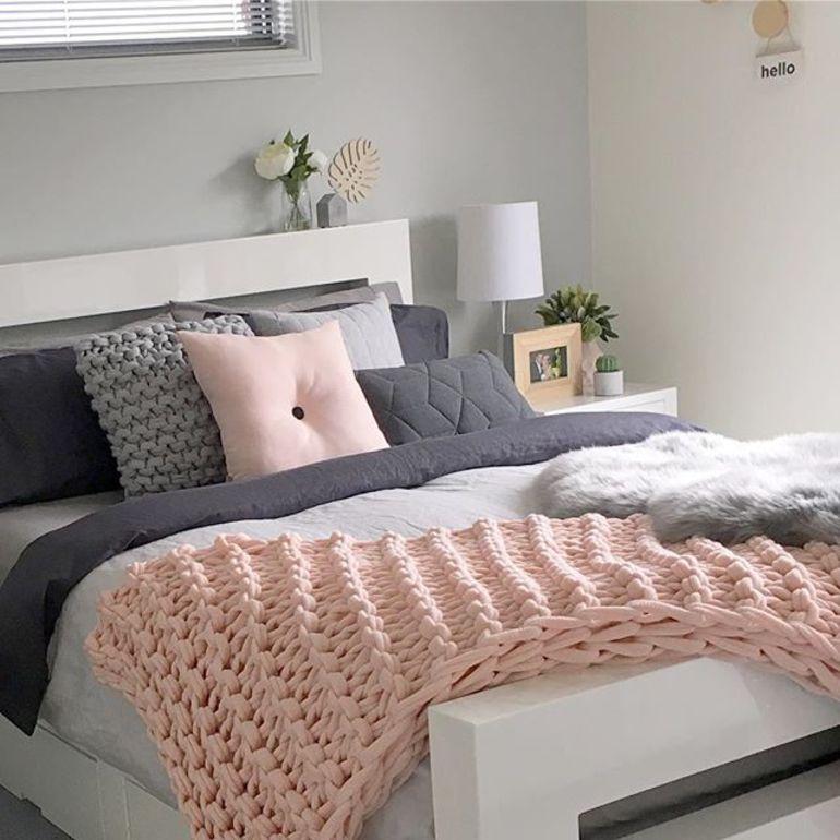 Вязаная спальня вызывающая восторг