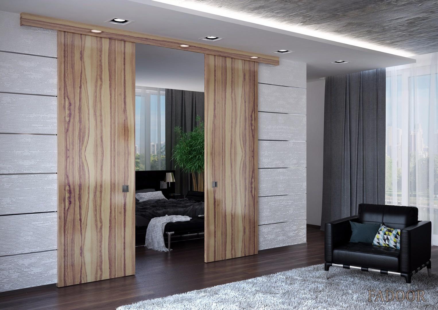 Раздвижные межкомнатные двери: отличный выбор для любителей Хай-тек