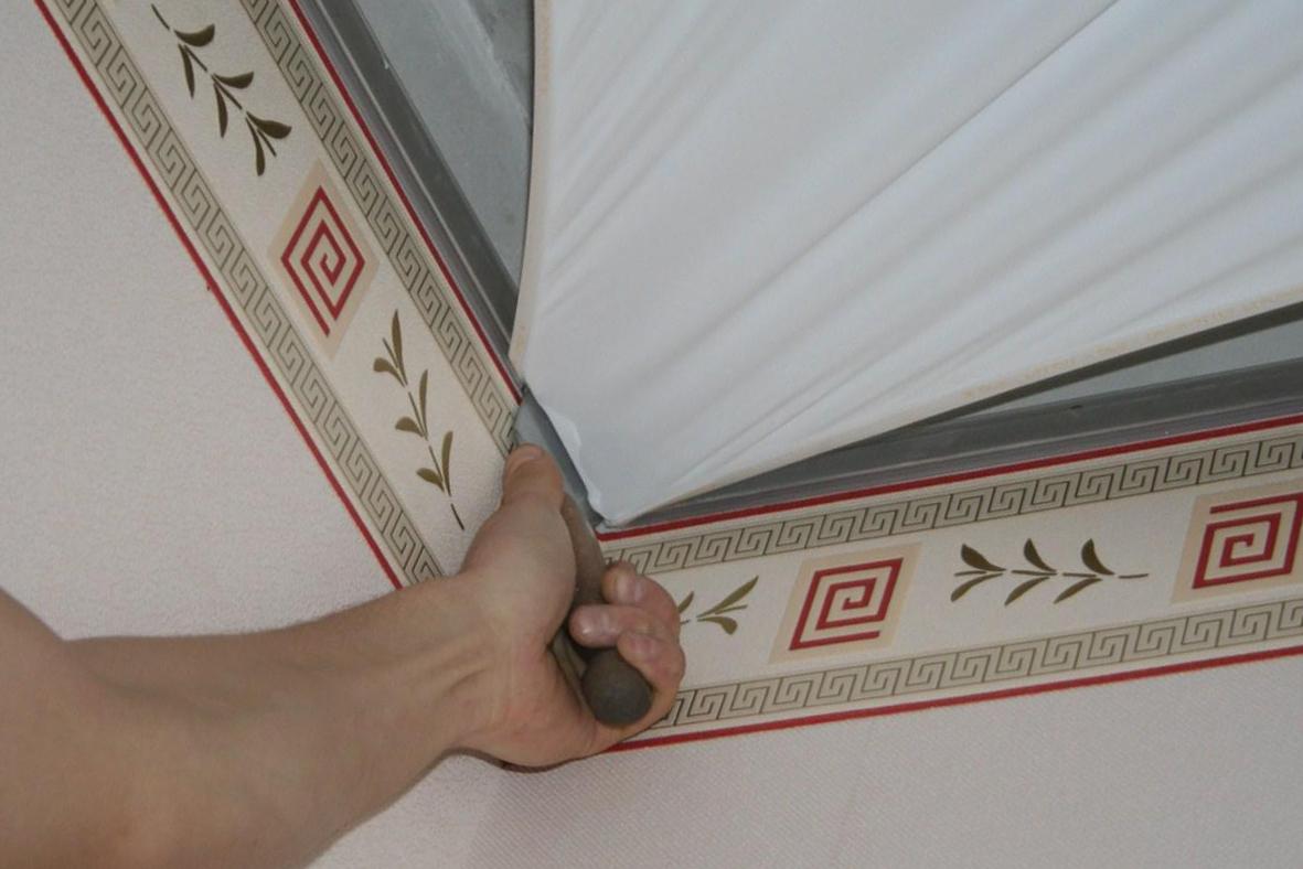 Натяжные потолки - современные тенденции ремонта