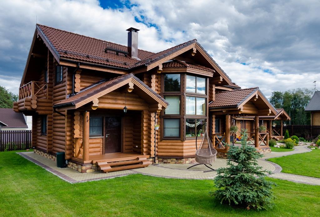 Дома из бревна и бруса