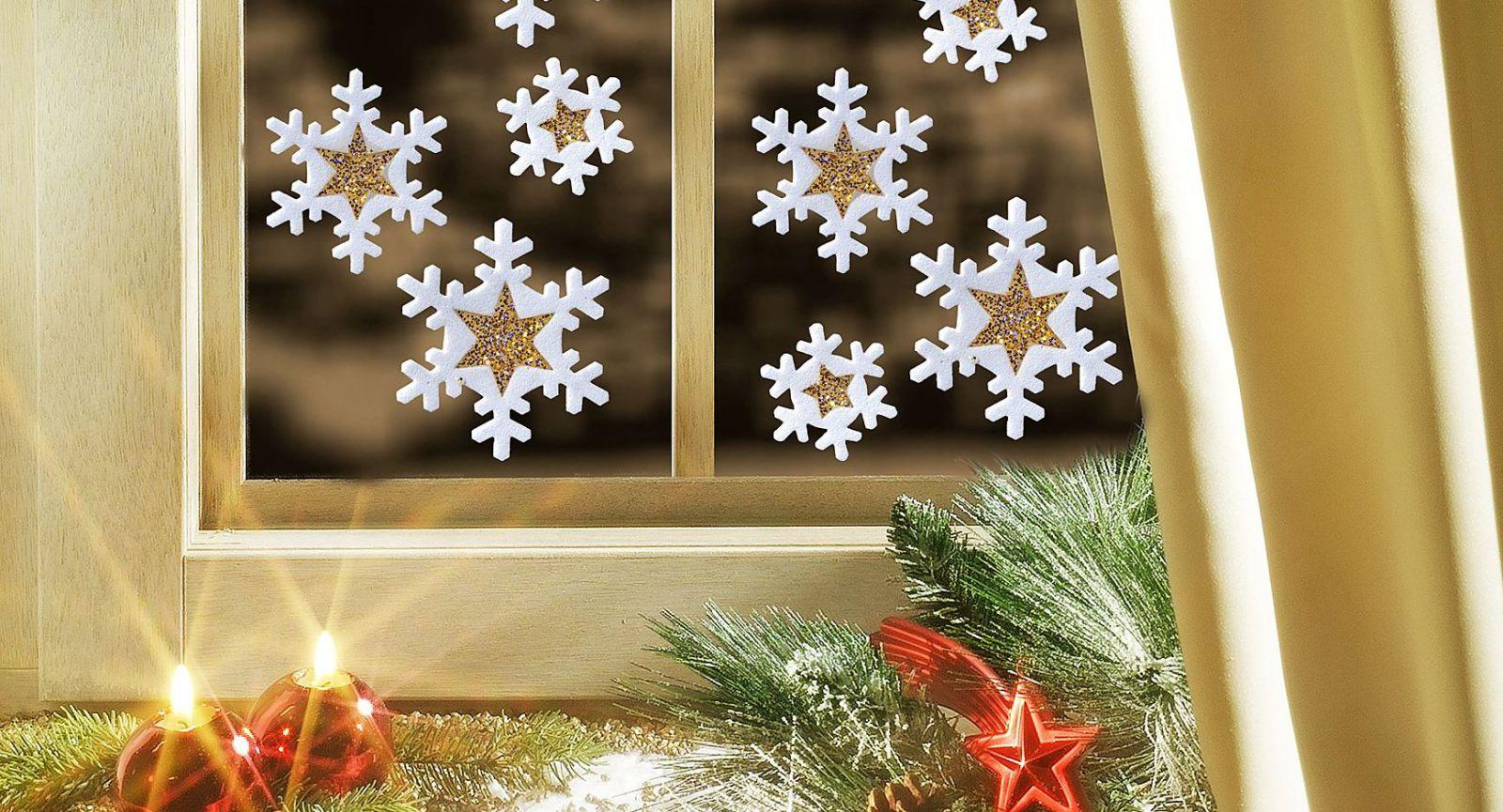 Как легко и быстро украсить окна к Новому году