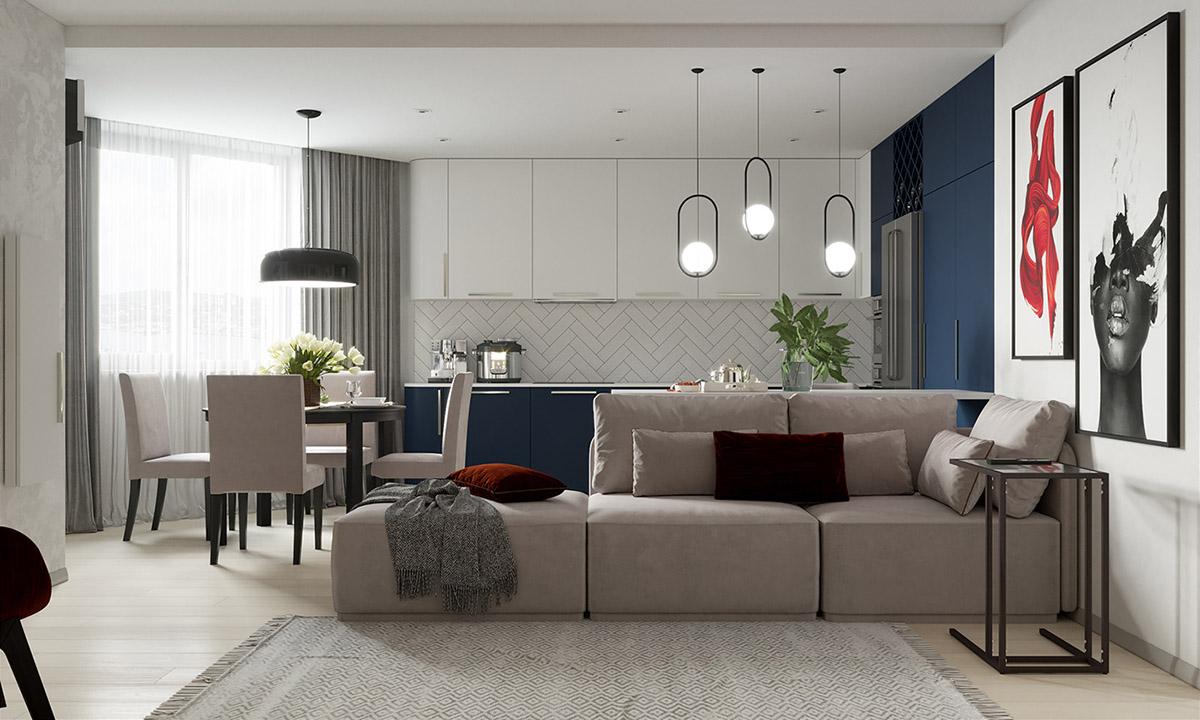 Вопрос цвета в интерьере: фото-идеи для яркой квартиры