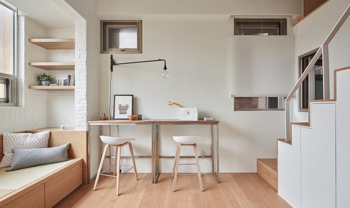 Квартира с мезонином: фотообзор удачных дизайнерских решений