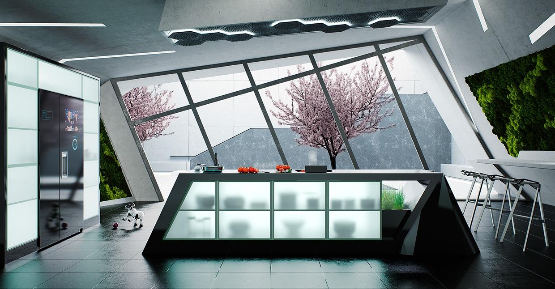 Кухня как искусство: фотообзор ультрасовременных дизайнерских проектов