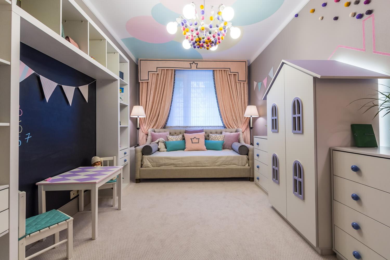 Как создать домашнюю сказку: фото-идеи для дизайна детской комнаты