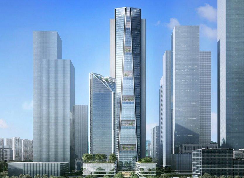 Новый эко-небоскреб будет использовать дождевую воду