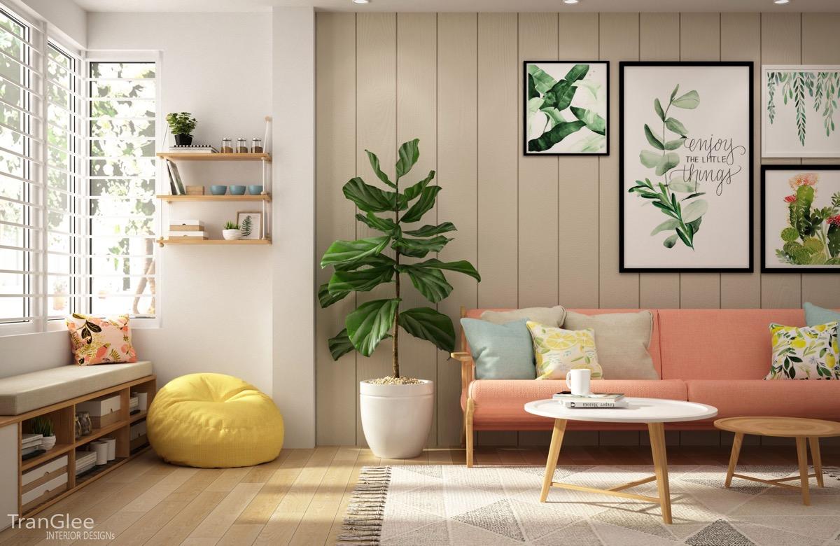 Краски дома: фото-тур по современным интерьерам