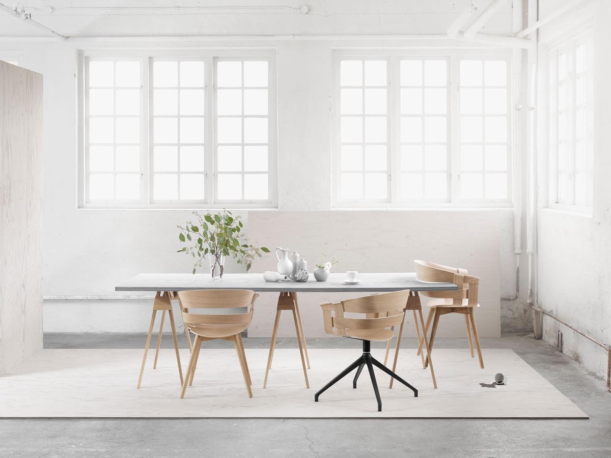 Столовая в стиле минимализма: фотообзор