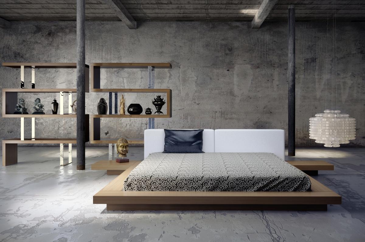 Минималистские спальни: фото-идеи для Вашего дома