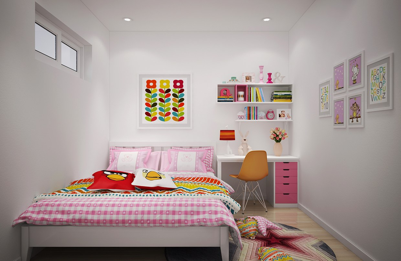 Скандинавская квартира с яркими цветами: фотообзор