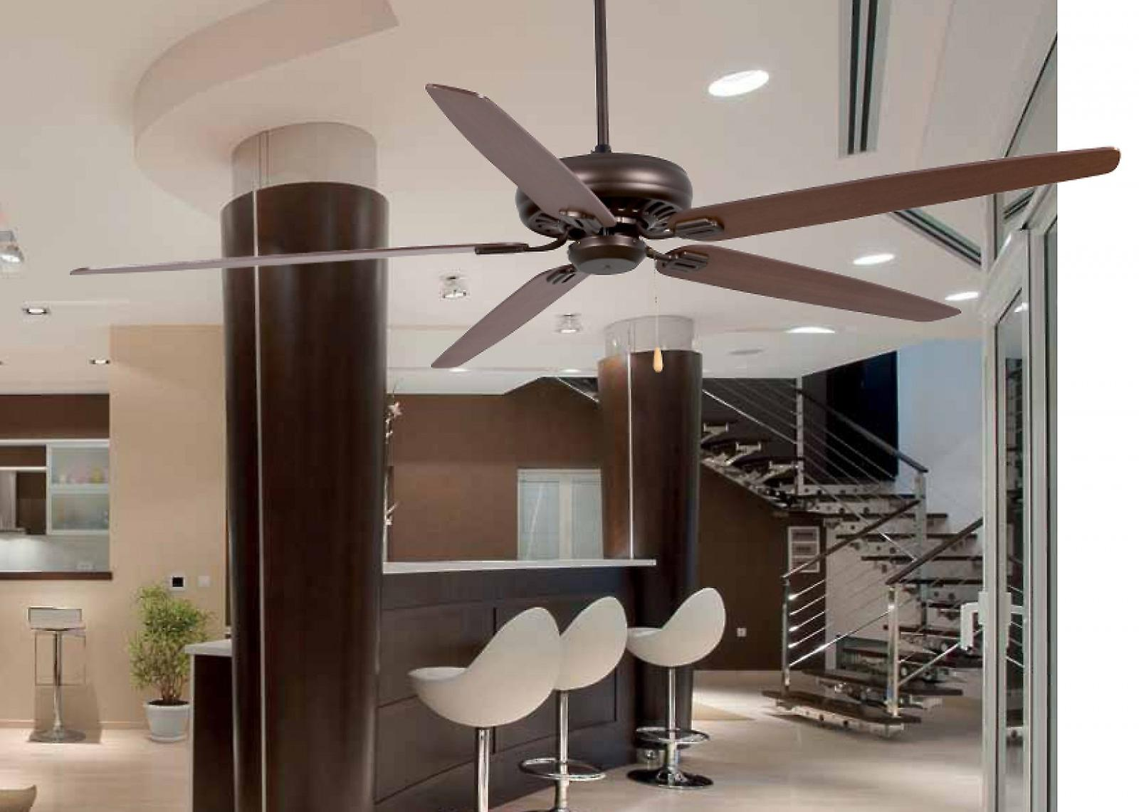 Потолочный вентилятор в интерьере