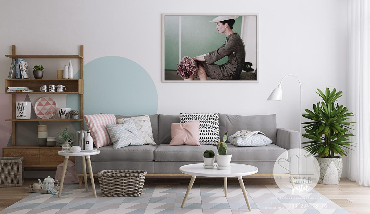 Фото-тур по трем великолепным интерьерам в пастельных тонах
