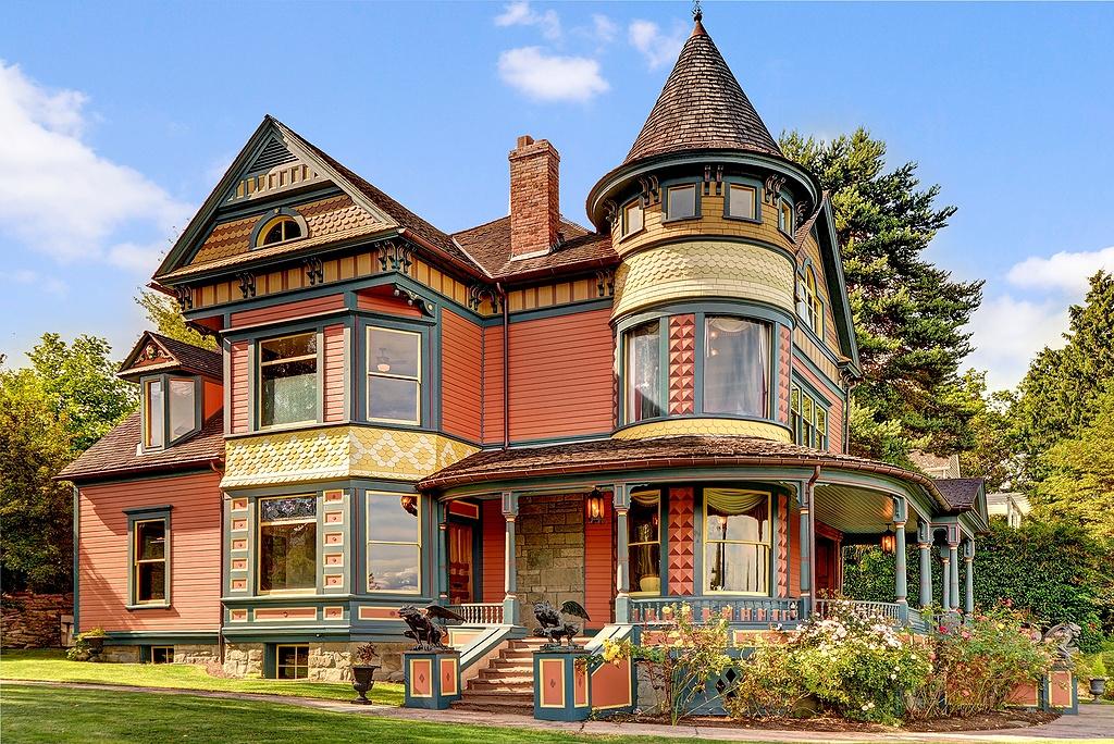 Викторианский стиль дома