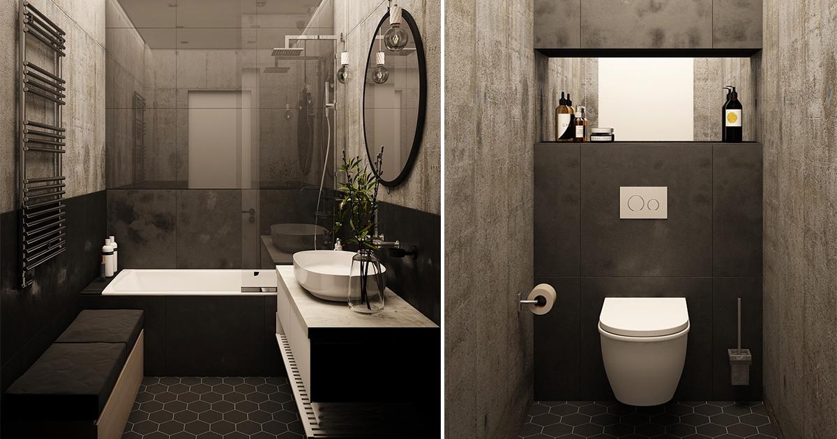 Контрастные варианты дизайна: фото-идеи для стильного интерьера