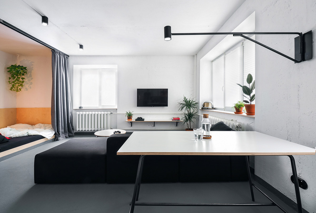 Стильные квартиры-студии с удачной планировкой: фото-идеи для Вашего дома