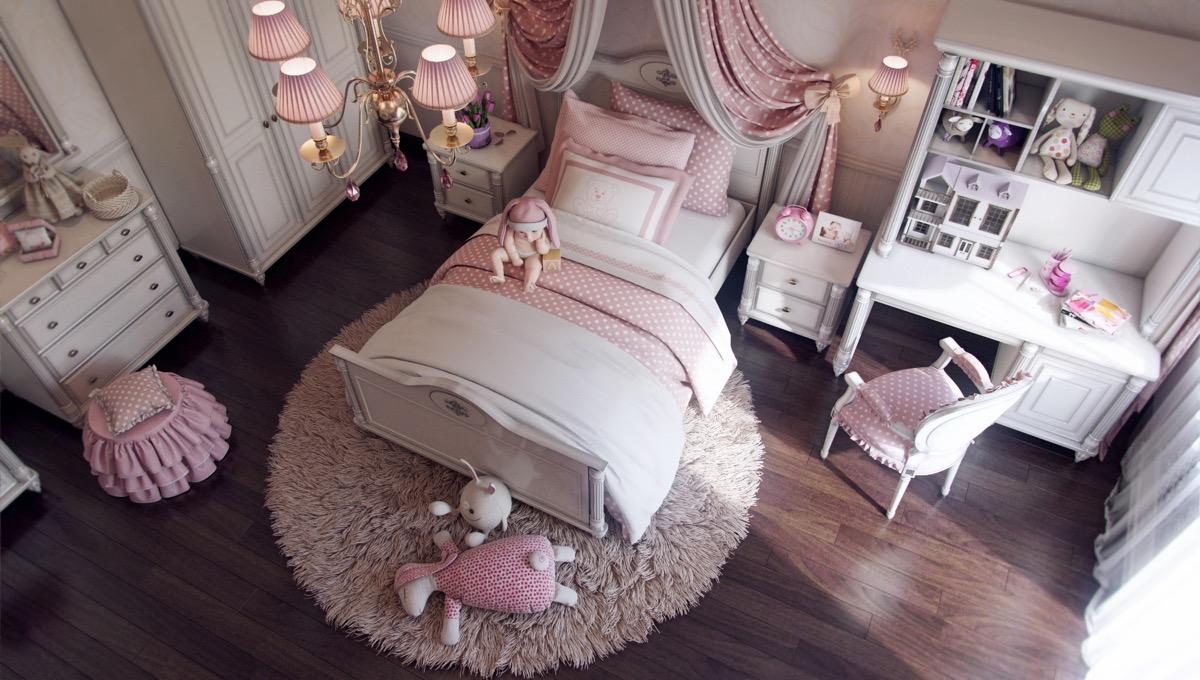 Роскошные детские комнаты: фотообзор