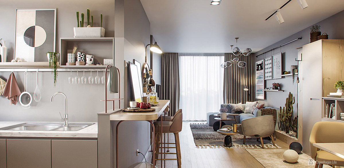 Маленькие, но очень стильные: фотообзор трех малогабаритных квартир