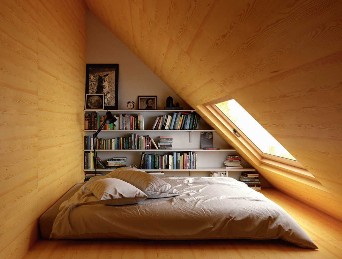 bedroom attics - HD1200×909