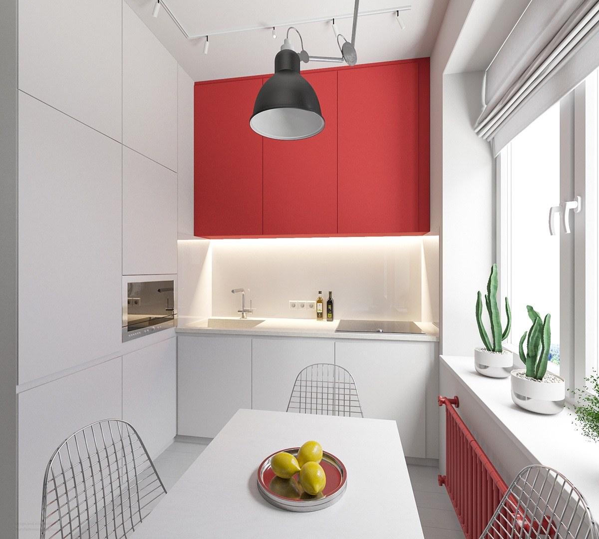 Необычный выбор цвета для интерьера: фото-тур по трем современным квартирам