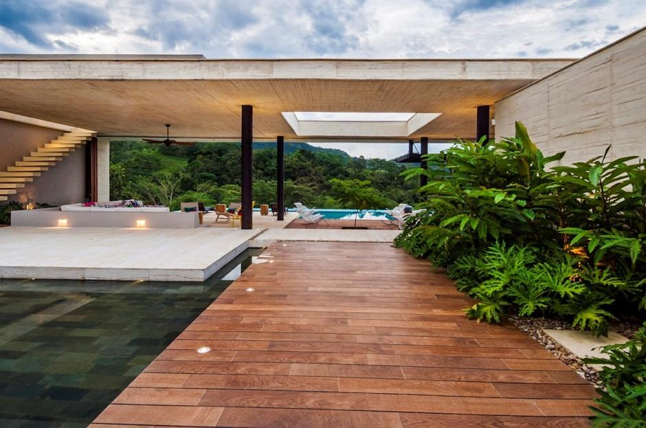 Загородный дом в Колумбии: фотообзор