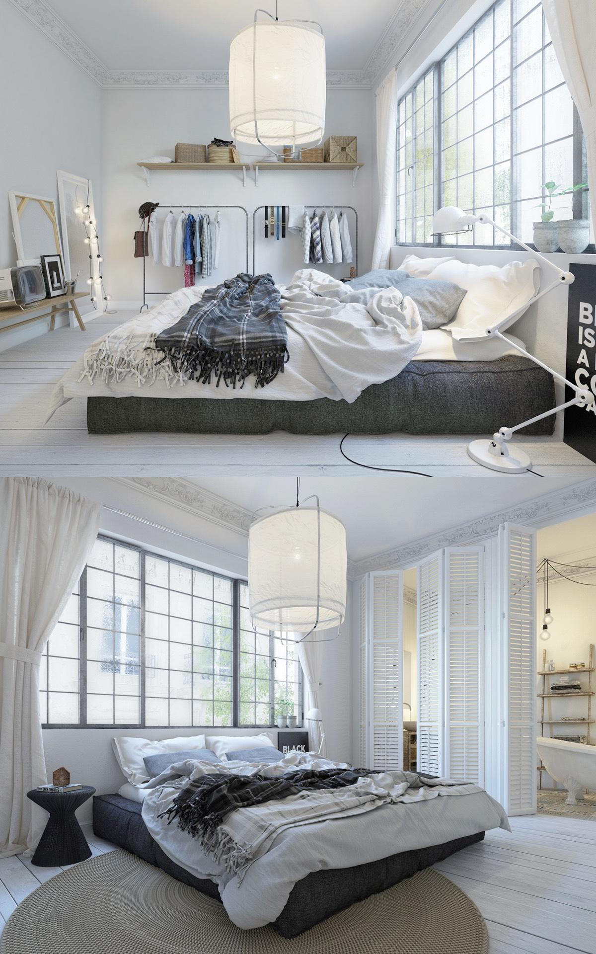 Фото спален в скандинавском стиле: идеи для вдохновения