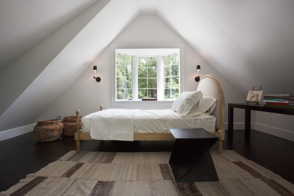 """Оформление спальни-мансарды: фото-идеи для дома с """"жилым чердаком"""""""