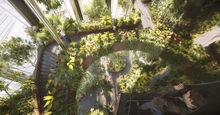 Сингапур удивит мир небоскребом с вертикальными лесами