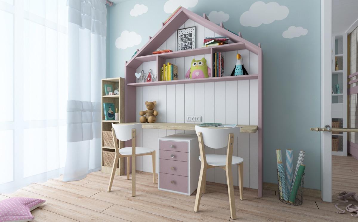 Стильные спальни, разработанные для детей: фото-идеи для Вашего дома