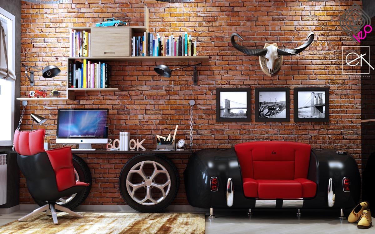 Комната для подростка: фотообзор дизайнерских интерьеров
