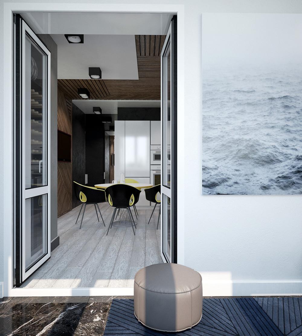 Маленькие квартиры с веселыми красочными акцентами: фотообзор
