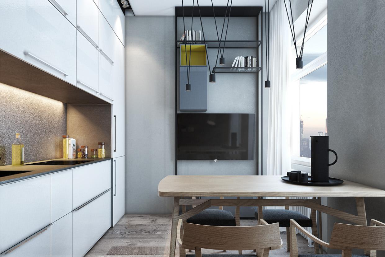 Проектирование небольших помещений: фото-тур по трем микролофтам