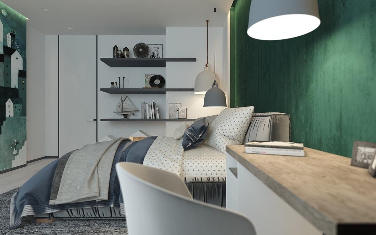 Классический и современный дизайн спальни: фотообзор трех интерьеров