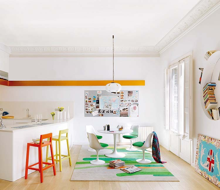 Креативный Дизайн с Красочным Декором: фотообзор интерьера в стиле Гауди