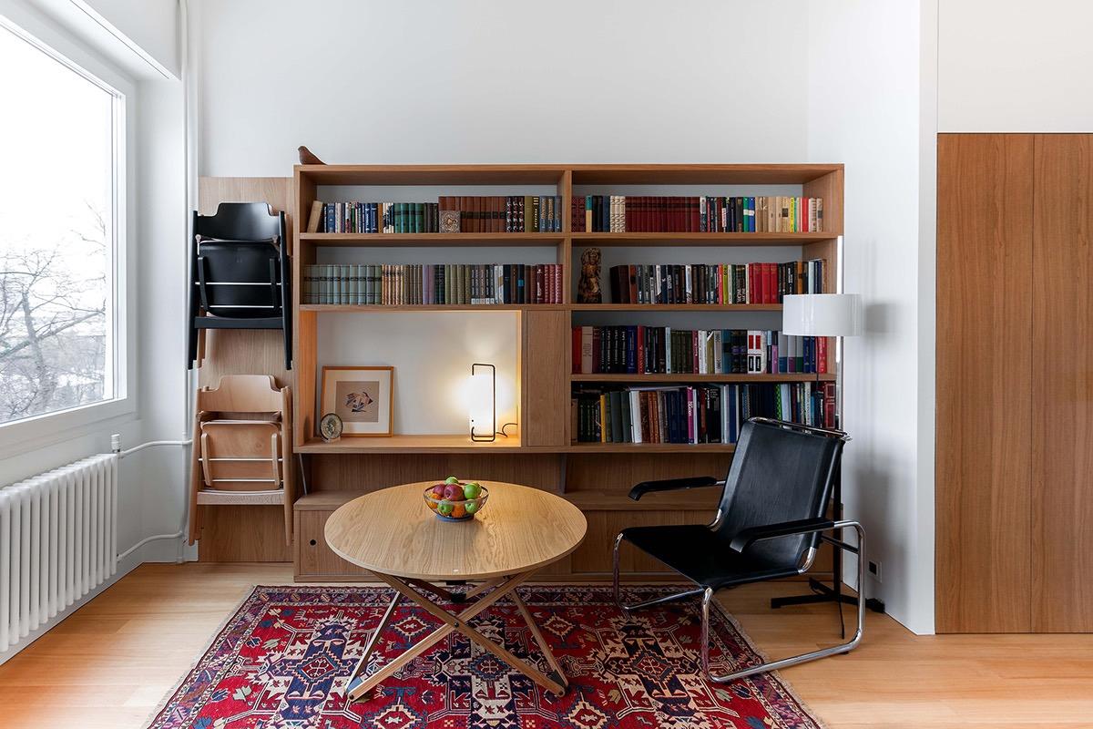 Компактная многофункциональная квартира с идеями зонирования: фотообзор