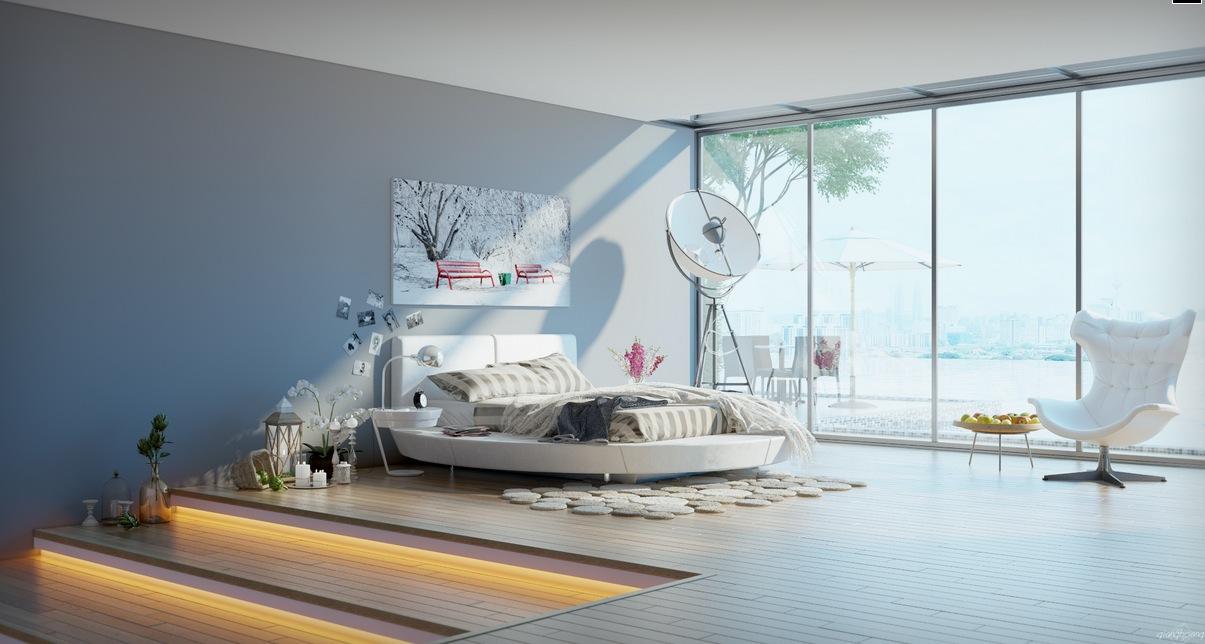 5 современных спален: фотообзор