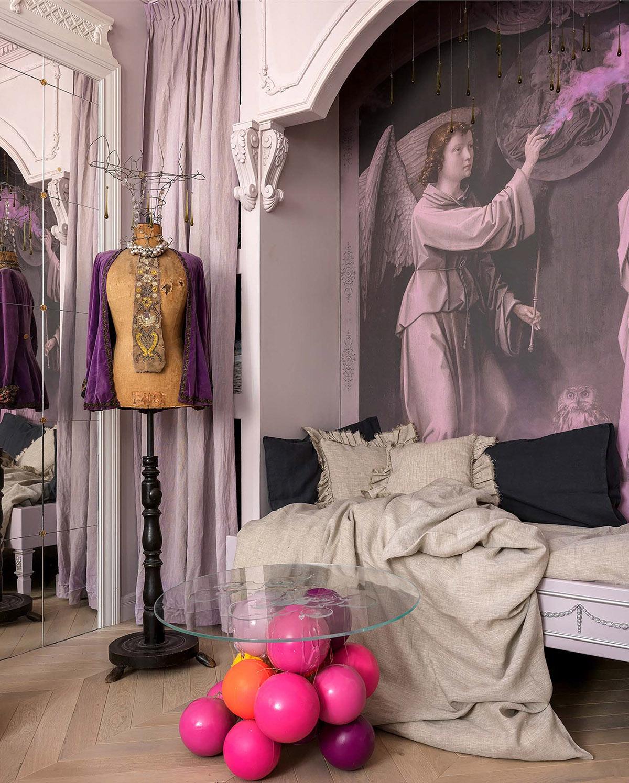 Дом сюрреалистических интерьеров и современного стиля АМПИР: фотообзор