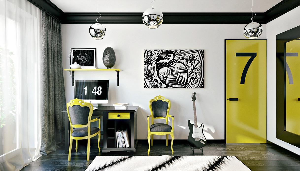 Интерьеры, которые понравятся творческим подросткам: фотообзор