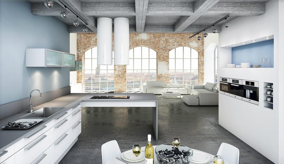 Nordic Kitchen Design: фото коллекция стильных кухонь