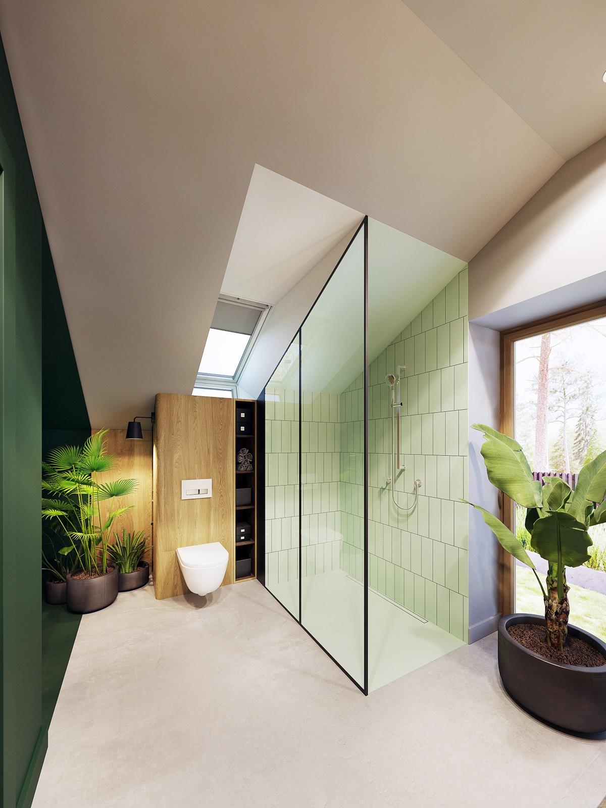 Изумрудная Зелень в Интерьере: фотообзор современного пространства