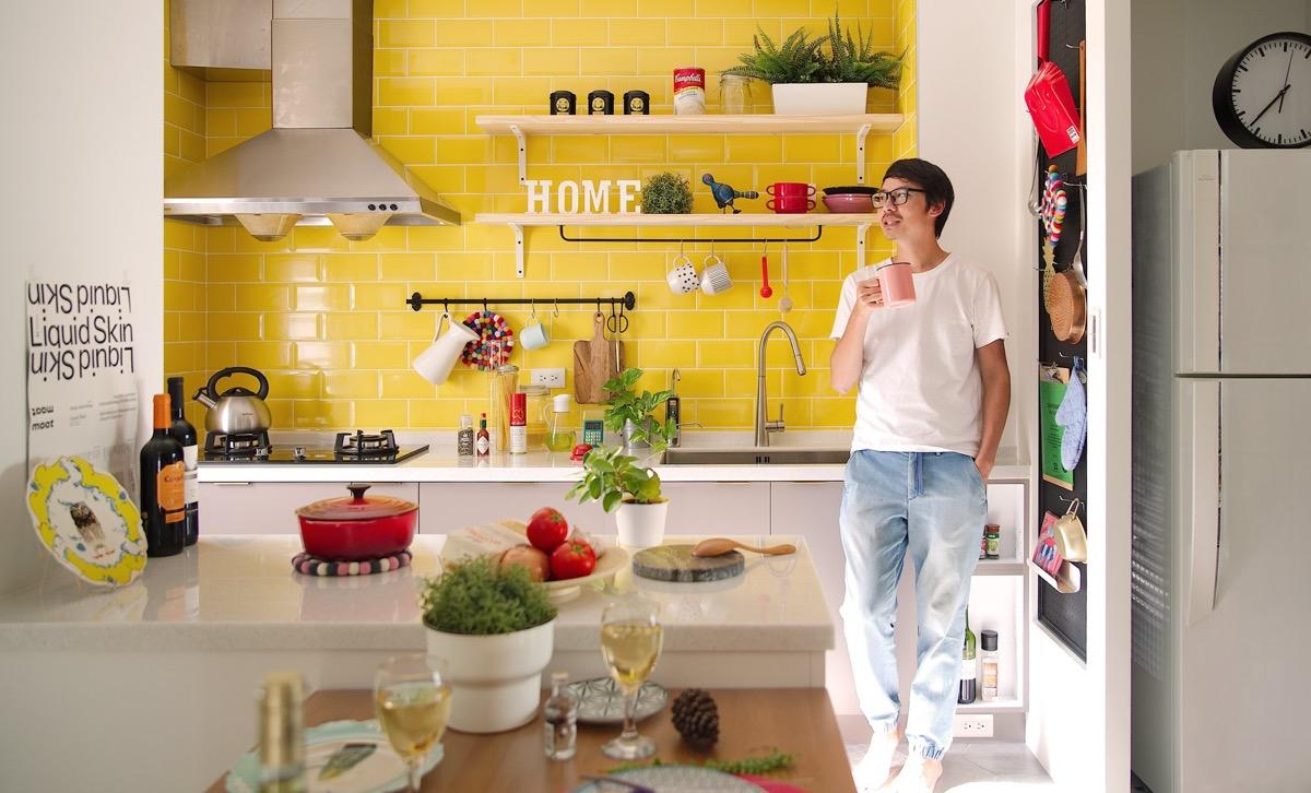 Яркий дом с Открытой Планировкой: фотообзор