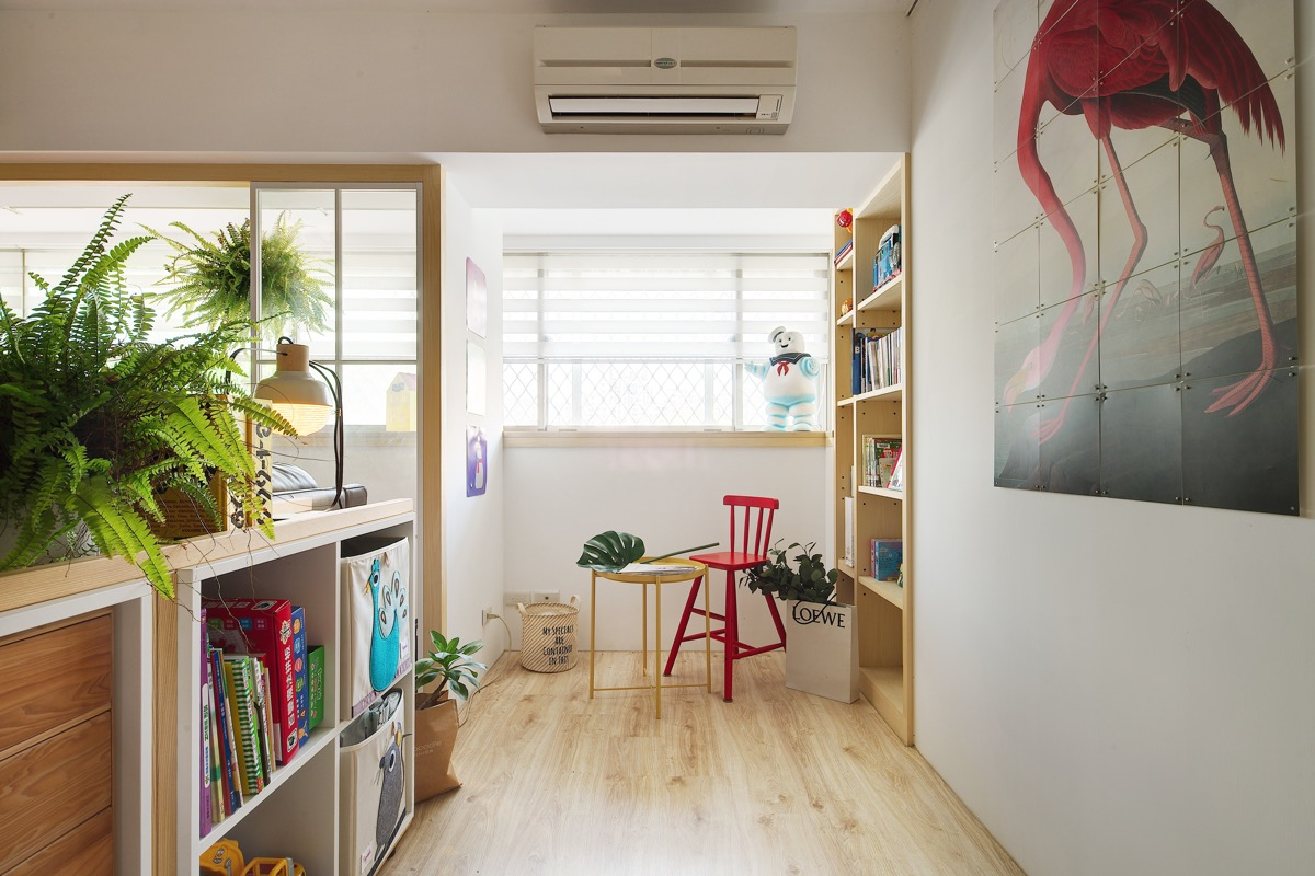 Красочный дом в Тайване: фотообзор