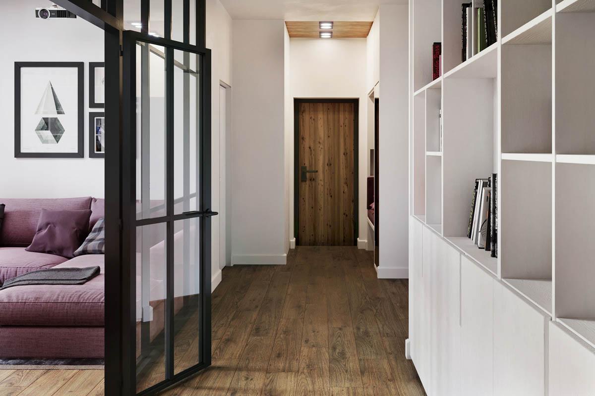 Квартира, которая использует доступное пространство наилучшим образом: Фотообзор