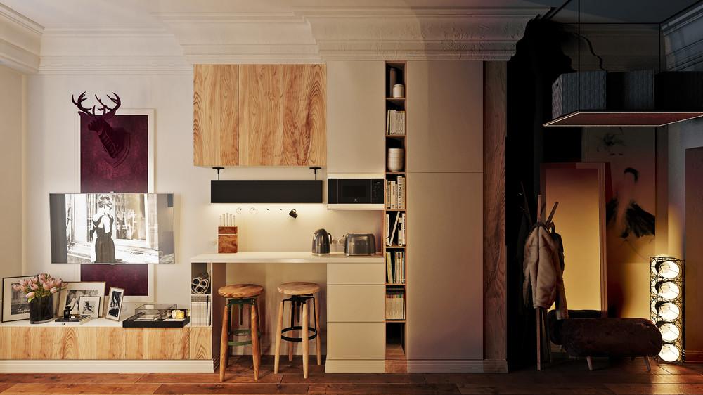 Дизайн для Стильной Микроквартиры: Фотообзор