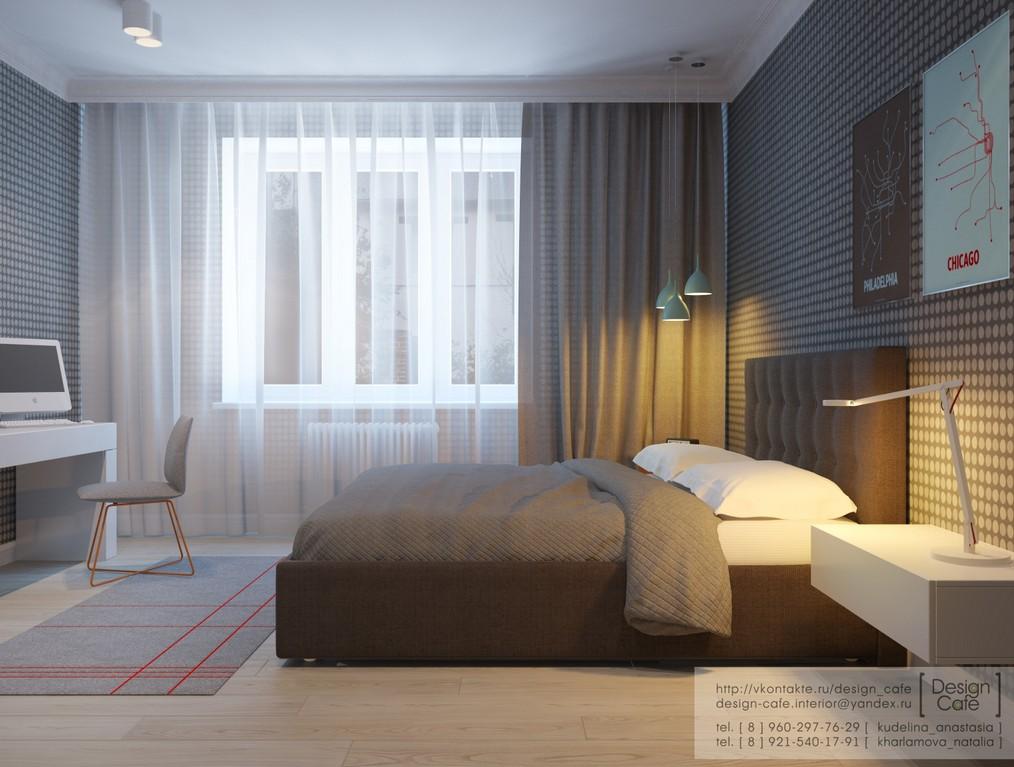 Стильная квартира для молодой семьи: Фотообзор