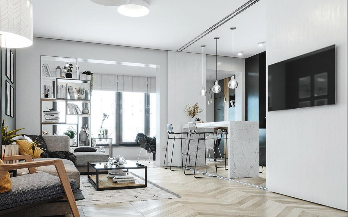 Скандинавские интерьеры для семьи: Фотообзор