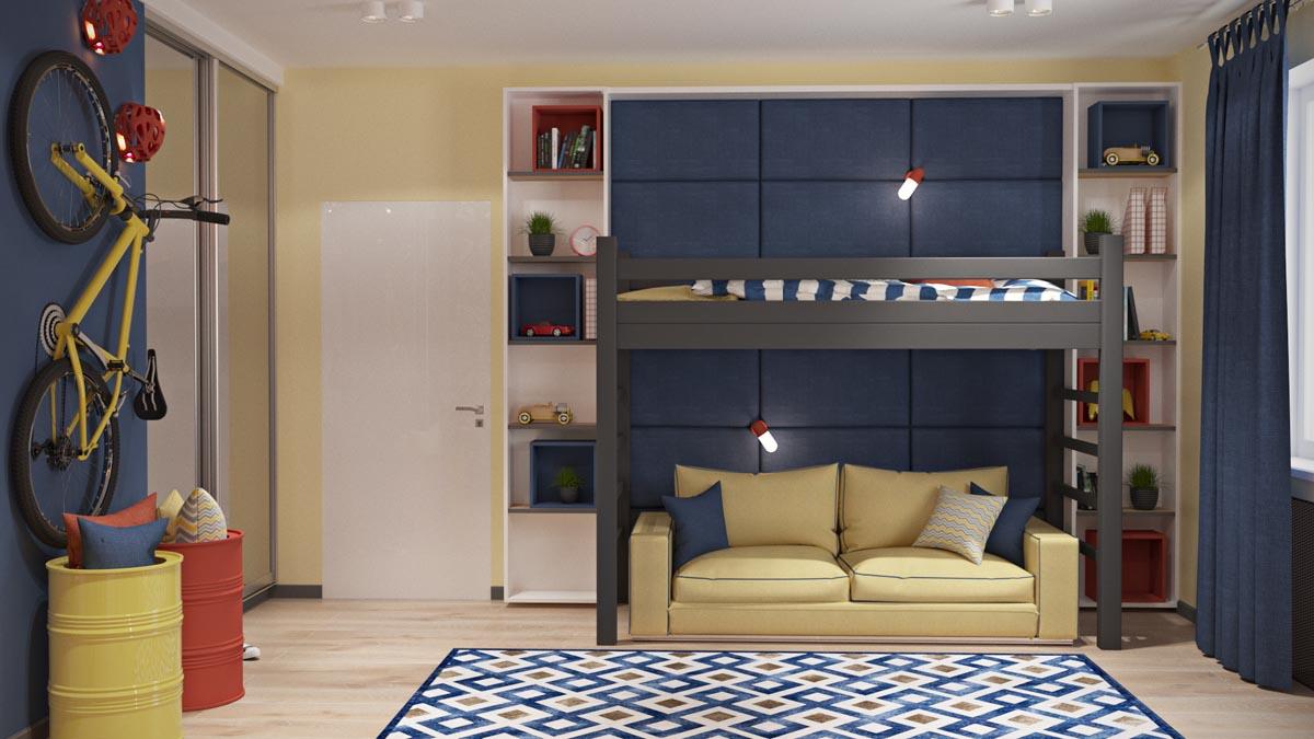 Общие комнаты: Фото-идеи для планирования Детских