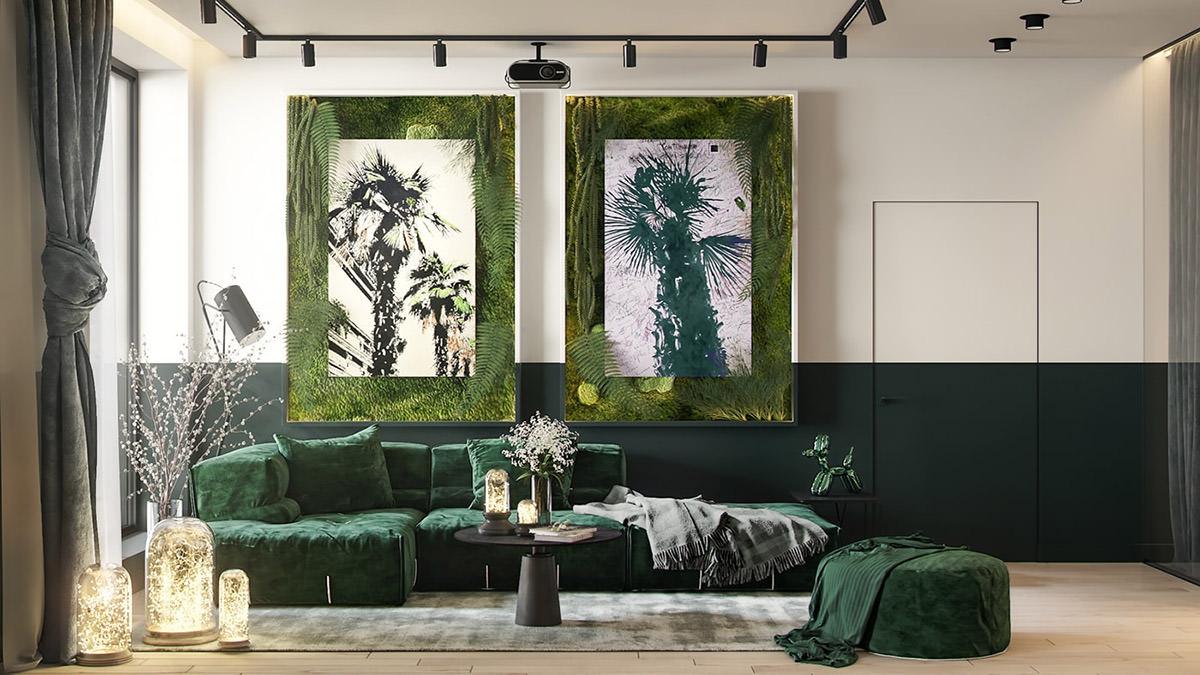 Растения, которые меняют интерьер: Фото-пример зеленых дизайнов