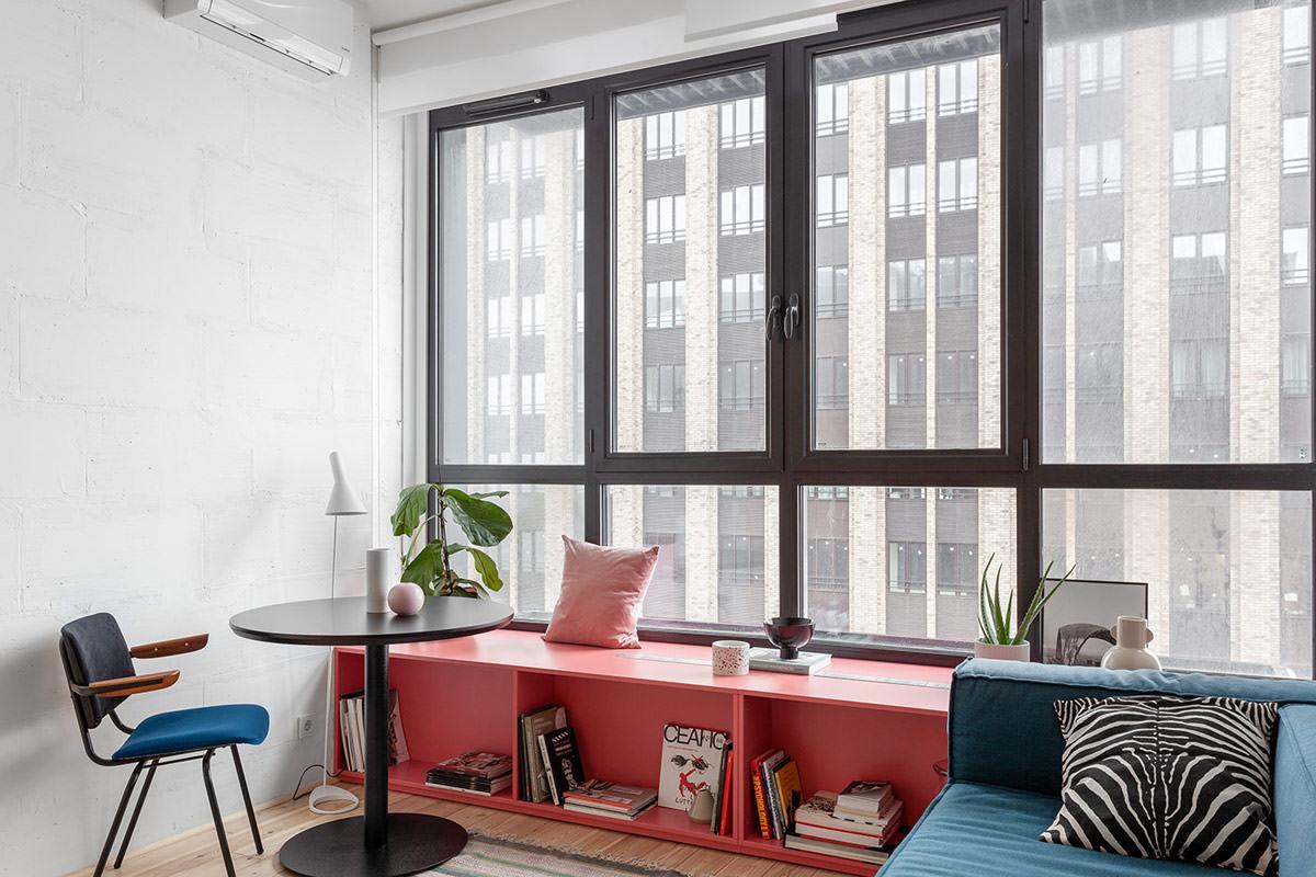 Московские квартиры-студии с удивительными решениями: Фотообзор