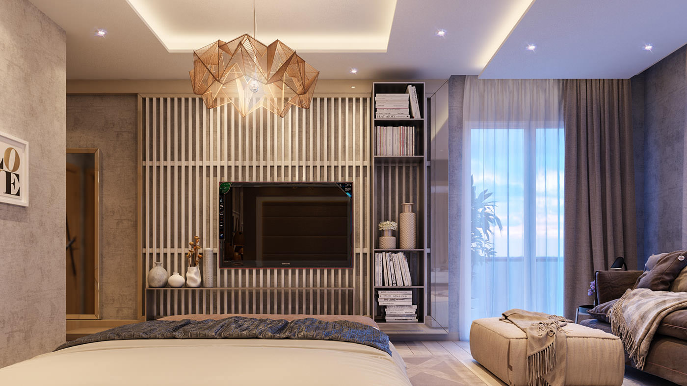 Стильные Роскошные Спальни: Фотообзор