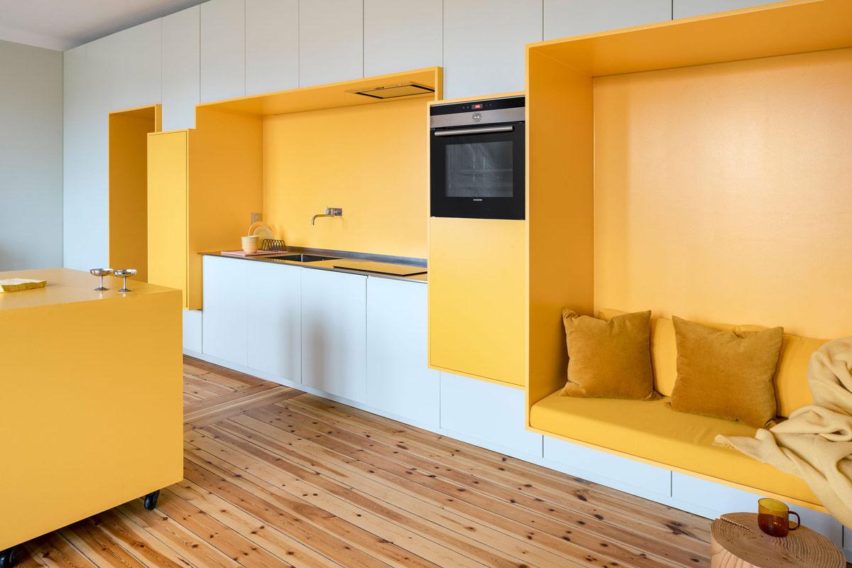 Бело-желтый интерьер: Фото-совет по цветовому оформлению пространства